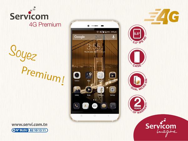Lancement du « Servicom 4G Premium »