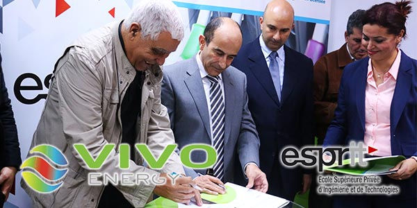 En Vidéo : Vivo Energy Tunisie fait appel à « ESPRIT »  pour la formation de ses experts qualité et lubrifiants