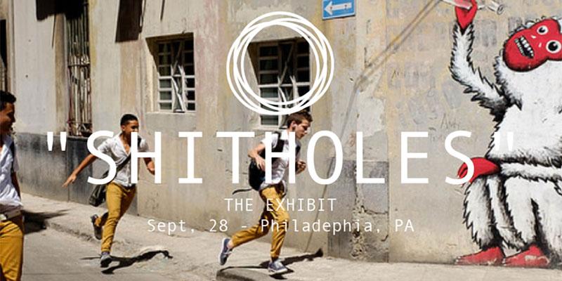 Une galerie d'art éphémère pour soutenir les artistes des pays qualifiés de 'shitholes'