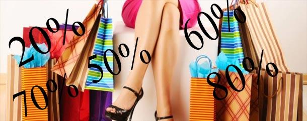 Aujourd'hui, jusqu'à 80% de réduction sur les vêtements
