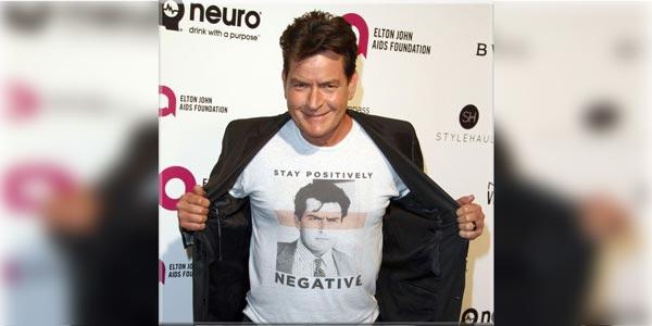 L'acteur américain Charlie Sheen annonce être guéri du Sida