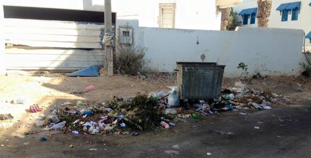 En photos –Sidi Bou Saïd : Spectacle désolant de déchets qui s'y accumulent