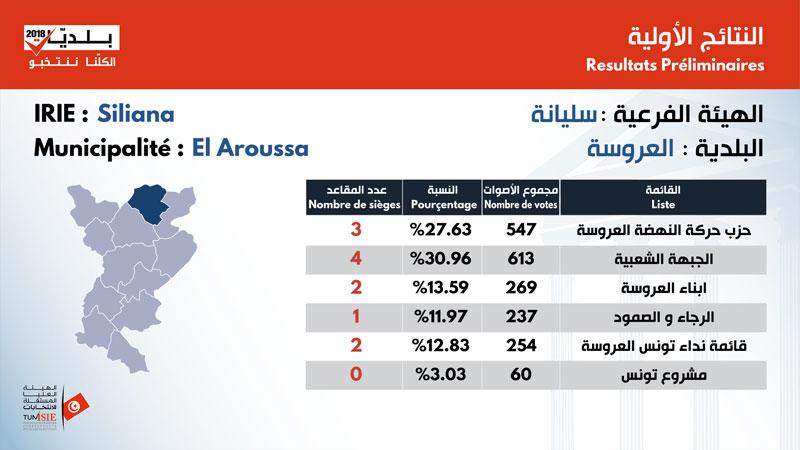 بالأرقام: نتائج الانتخابات البلدية في ولاية سليانة
