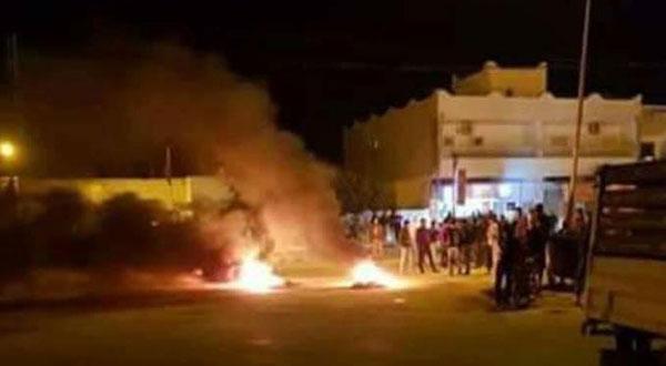 سليانة: القبض على شخصين من المتسببين في الاحتجاجات الليلية ببوعرادة