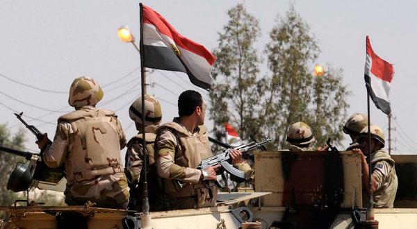 الجيش المصري يقتل 20 من داعش سيناء