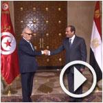 En vidéo : Rencontre Caied Essebsi- Sissi au Caire