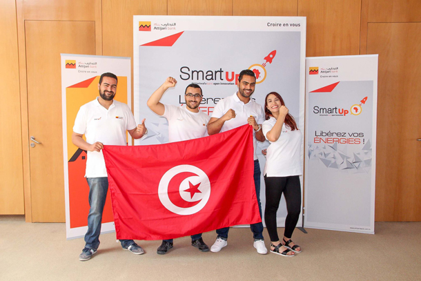 Deux équipes tunisiennes se distinguent au niveau de la finale  internationale du Hackathon ''Smart Up''