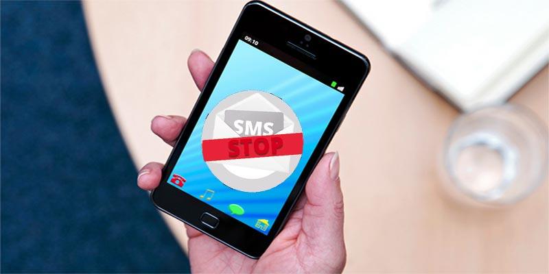 Halte aux sms publicitaires
