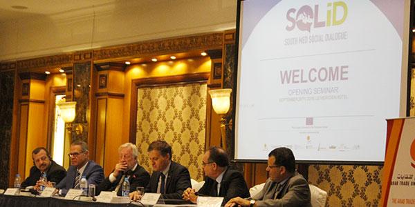 En vidéo : Séminaire pour la Promotion du Dialogue Social dans le Voisinage Sud de la Méditerranée