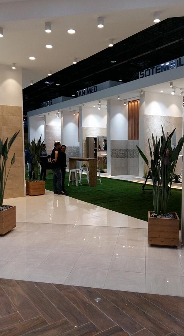 Groupe SOMOCER et la société SANIMED participeront au salon CERSAIE 2016  du 26 au 30 Septembre 2016 à Bologne, Italie.