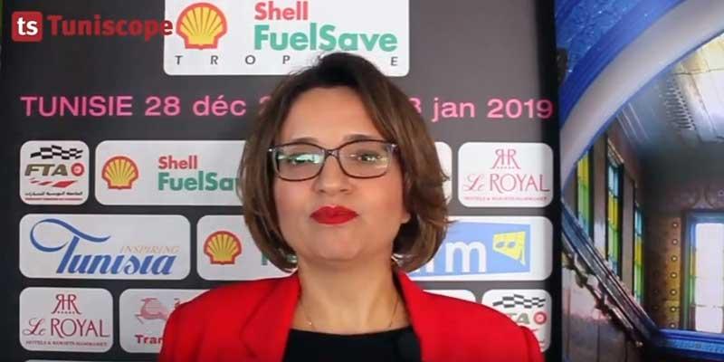 En vidéo : Sonia Dammak explique le sponsoring du Rallye Alyssa par de Shell Vivo Energy