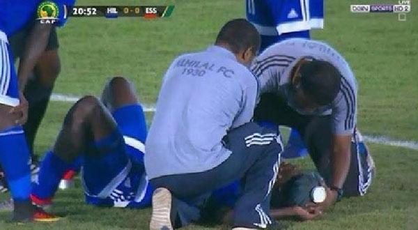 وفاة طبيب الهلال السوداني عقب مباراة النجم الساحلي