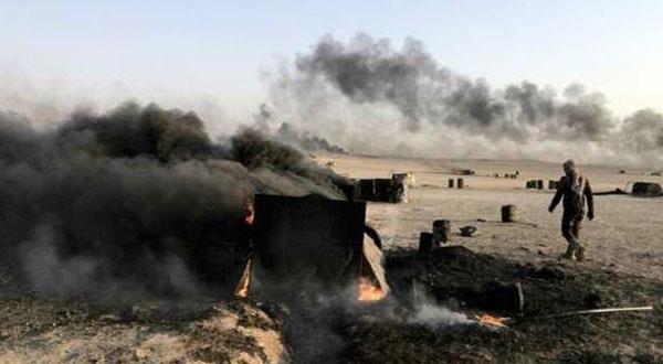 طائرات التحالف تقتل 28  مدنيا و تصيب 3 دواعش شمال سوريا