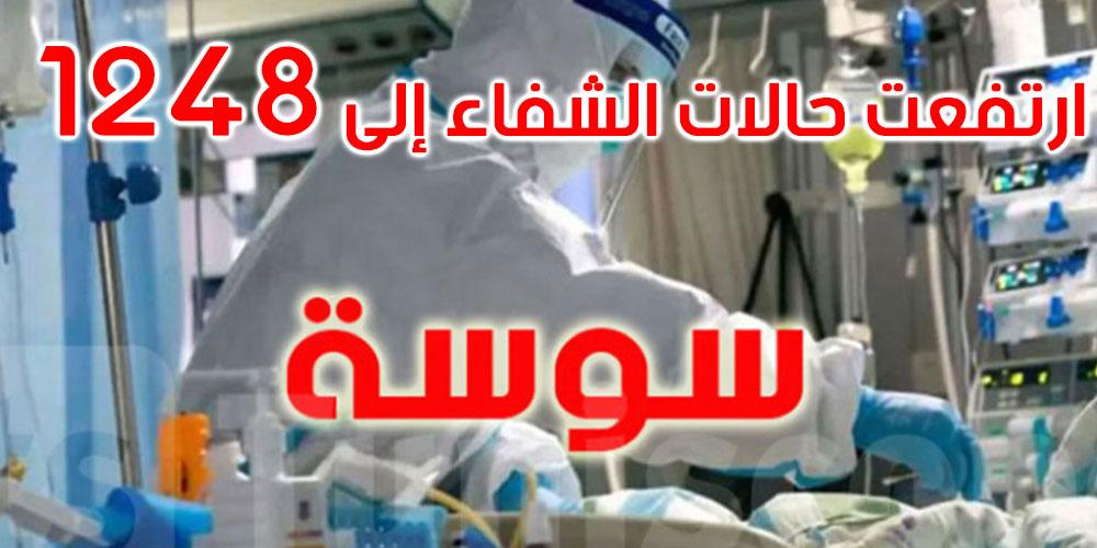سوسة: 112 إصابة جديدة بفيروس كورونا و5 وفيات