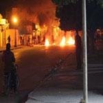الأمن يفرّق محتجين بالغاز المسيل للدموع في سوسة