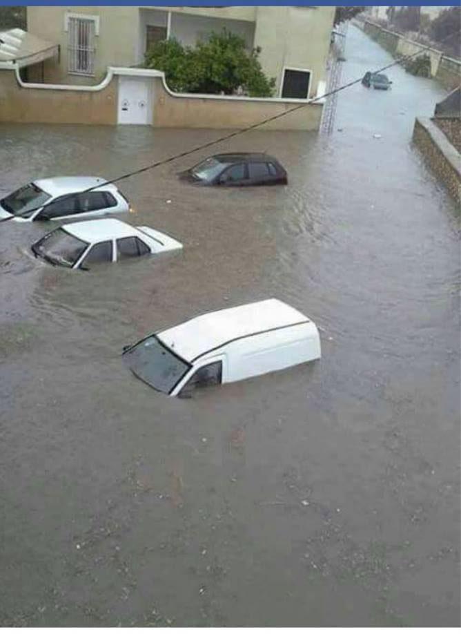 Fortes pluies et inondations à Sousse : Les agents de la protection civile interviennent
