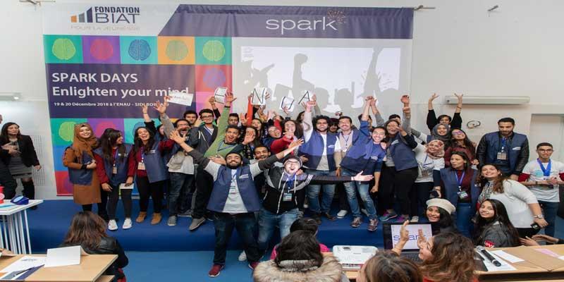 La Fondation BIAT organise la quatrième édition des SPARK DAYS à l'ENAU Sidi Bou Said