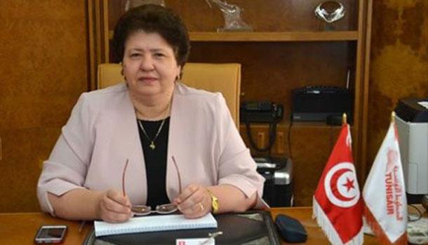 Sarra Rejeb, pdg de Tunisair, membre du comité exécutif de l'ATAF