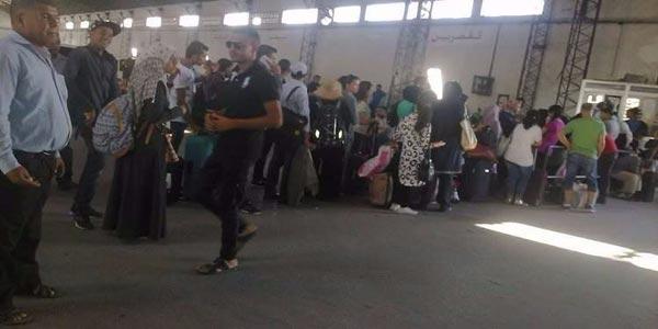اكتظاظ كبير بمحطّة النقل ''المنصف باي'' وغضب في صفوف مسافري القصرين...السبب؟