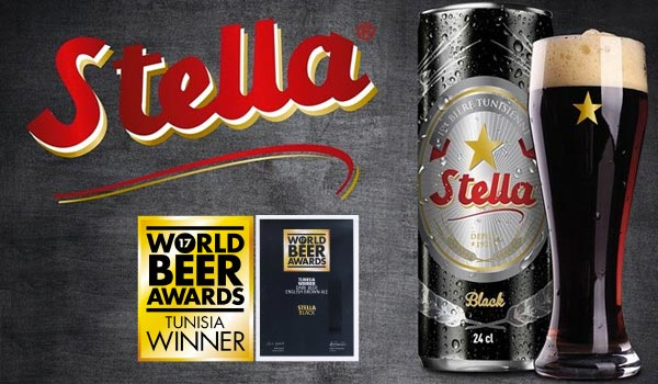 Stella Black récompensée aux WORLD BEER AWARDS 2017