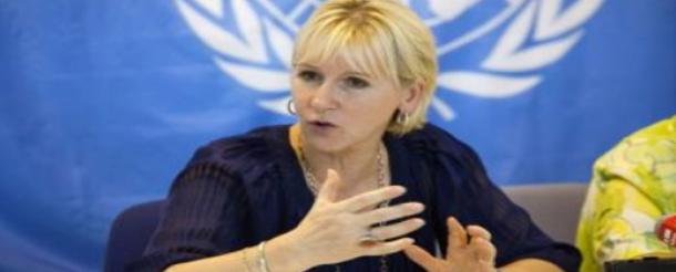 وزيرة خارجية السويد تكشف عن تعرضها لتحرش جنسي
