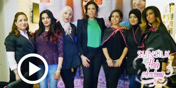 En vidéo : Découvrez les coulisses de l'épreuve finale du concours Sunsilk Hair Academy