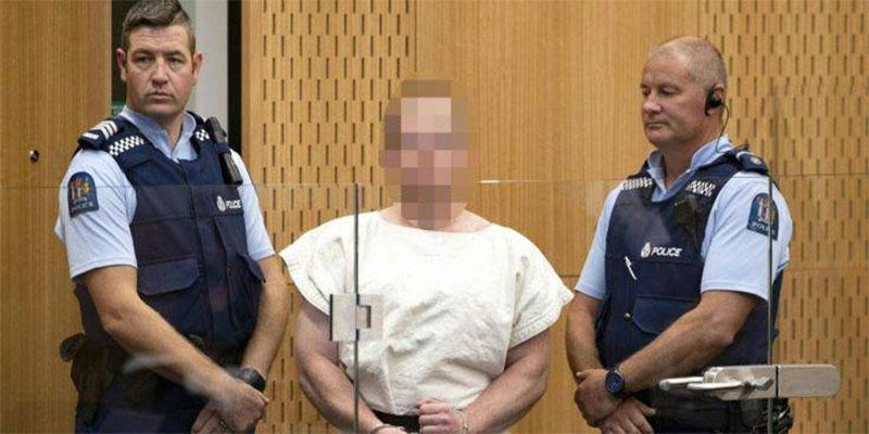 Le tueur présumé de Christchurch inculpé d'acte terroriste