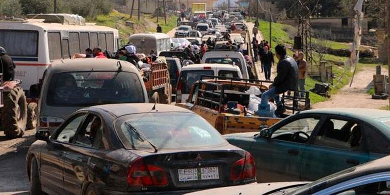 Syrie: les civils fuient la ville d'Afrine face à l'avancée des troupes turques