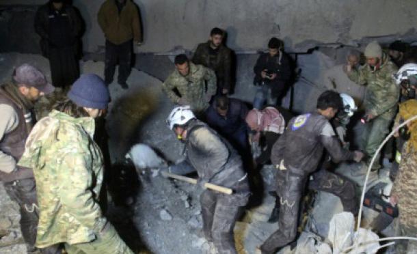 Syrie: 46 morts dans une mosquée après une frappe américaine