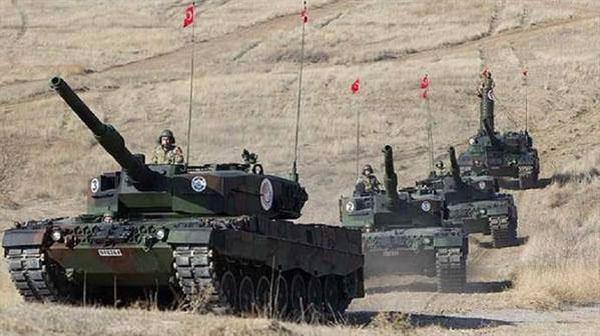 دبابات تركية تدخل الأراضي السورية لمحاربة تنظيم ''الدولة الإسلامية''