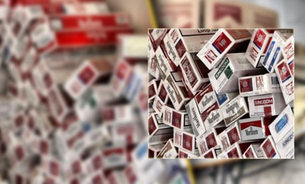 نابل: حجز 17200 علبة سجائر بحوزة أحد المحتكرين