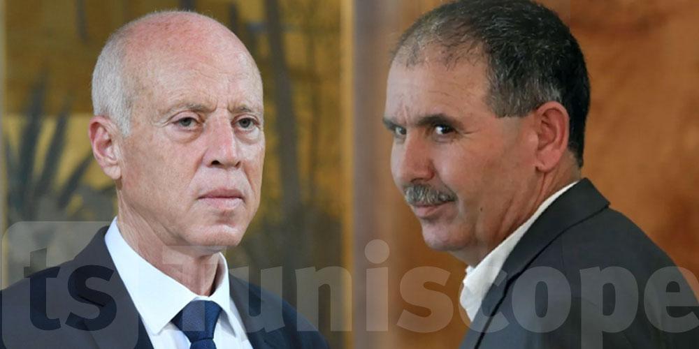 Taboubi: Nous n'avons pas de problème avec Kaïs Saïed
