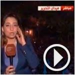 En vidéo : La place Tahrir s'enflamme de joie à la venue d'officiers soutenir les manifestants