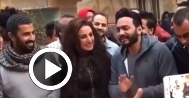 En vidéo : Tamer Hosny chante pour l'anniversaire de Dorra Zarrouk...