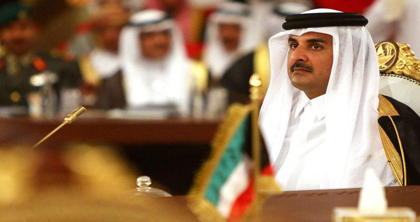 أمير قطر يندّد بنقل السفارة الأمريكية وبمجازر إسرائيل في غزة