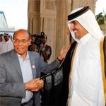 منصف المرزوقي يهنئ الأمير تميم بن حمد بن خليفة أل ثاني