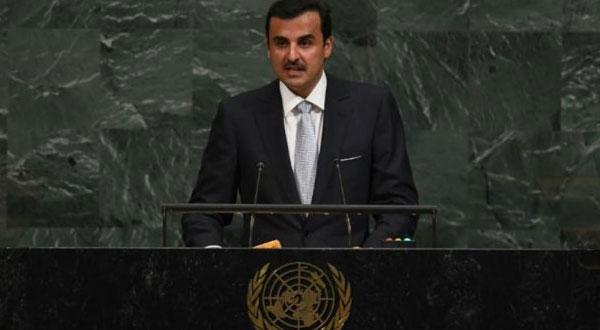 أمير قطر يدعو إلى 'حوار غير مشروط'بشأن أزمة الخليج