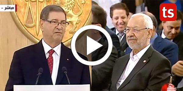 بالفيديو الصيد ساخرا  للغنوشي : ''المرة الجاية فتوى سيدي الشيخ...''