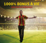 Avec TARAJI Mobile , le Bonus est  de  1000% !