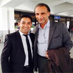 En photo : Tariq Ramadan à Tunis pour un meeting du CPR