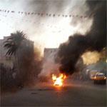 تطاوين :حرق مقر تنسقية نداء تونس إحتجاجا على فوز الباجي
