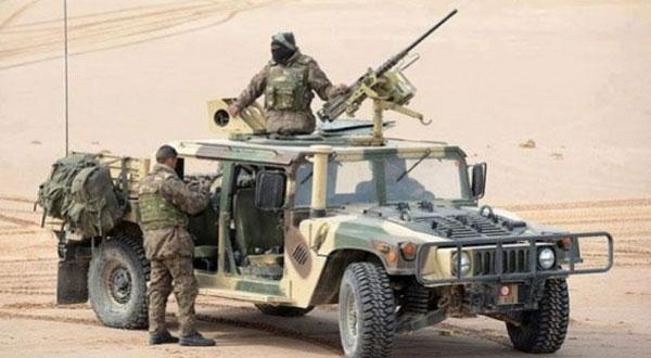 التصدي لسيارة تهريب بالمنطقة العسكرية العازلة