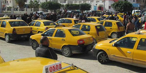 3ème journée de grève des taxis, le Grand Tunis paralysé