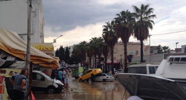 Photo du jour : El Omrane supérieur, autant en emporte la pluie