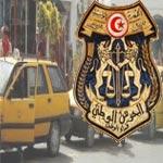 Gabès : Manifestation de soutien des chauffeurs de taxis à l'ensemble du corps sécuritaires