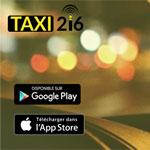 Taxi216, une nouvelle application mobile  permettant de réserver un taxi en quelques simples clics