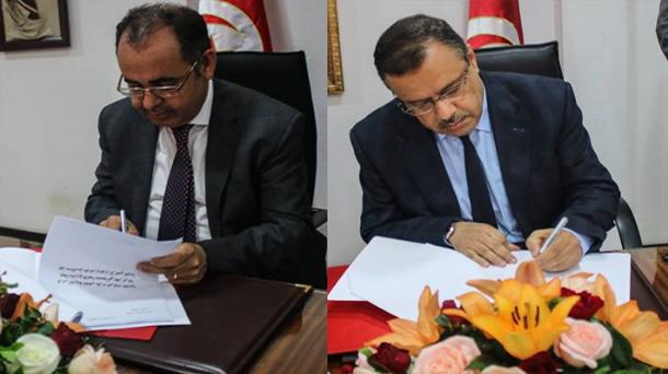 إمضاء اتفاقية شراكة حول كراس الشروط الخاص بكراء المركبات الفلاحية لبعث المشاريع