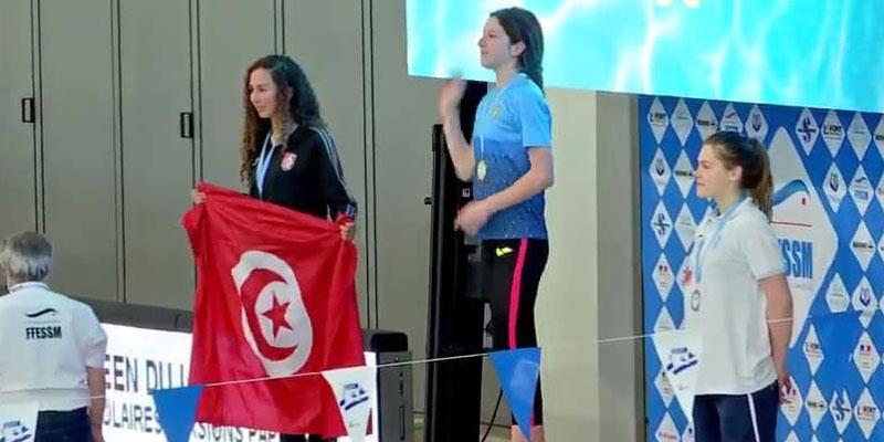 Tayssir Boubaker remporte la médaille d'argent à la coupe du monde de nage avec palmes à Aix-en-Provence