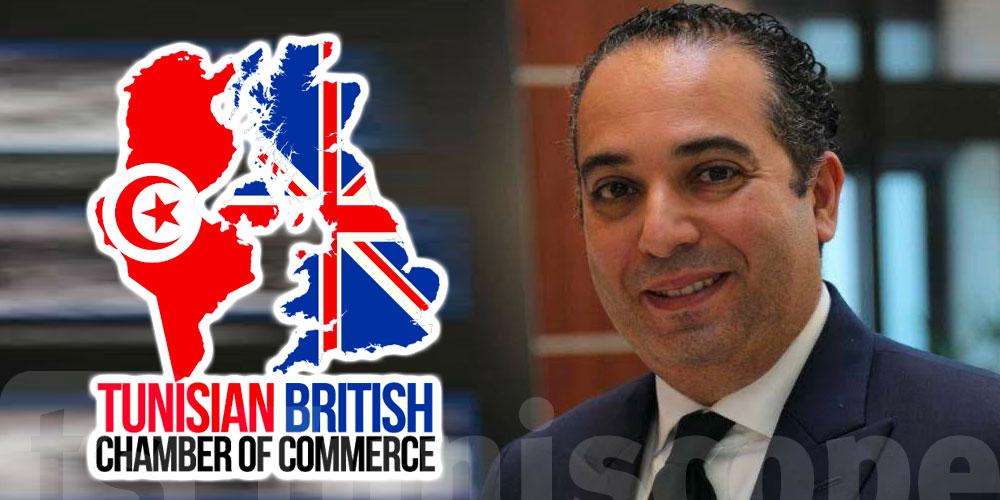 Jed Mrabet nouveau Président de la Chambre Tuniso-Britannique
