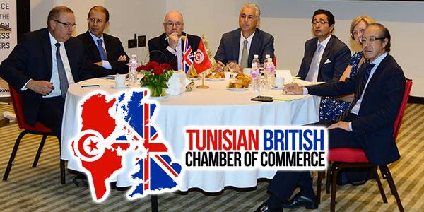 La Chambre Tuniso-britannique reçoit le Ministre britannique Burt et le Ministre Abdelkafi